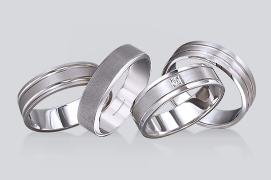 Groom Wedding band | Shimansky